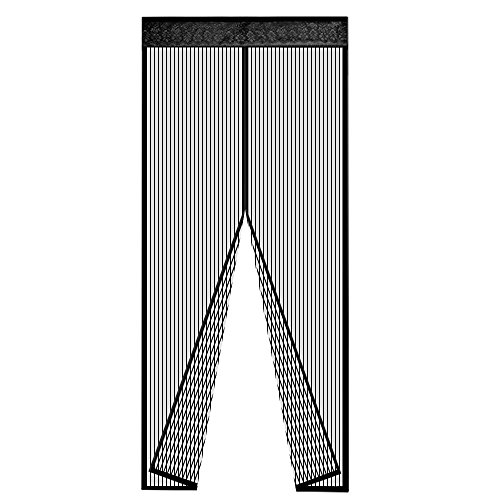 Coofine Magnetic Screen Door Mesh Curtain Fly Screens Full