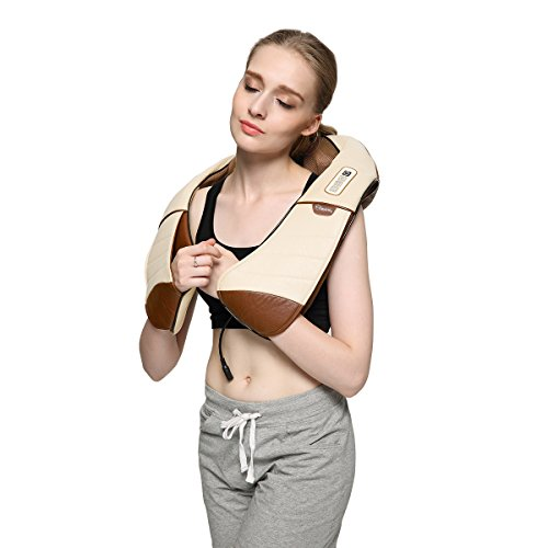 Ovonni Shiatsu Electric Neck And Shoulder Massager With