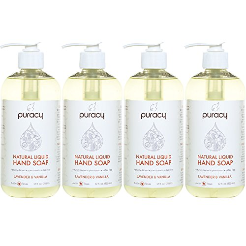 Puracy Natural Liquid Hand Soap Sulfate Free Gel Hand